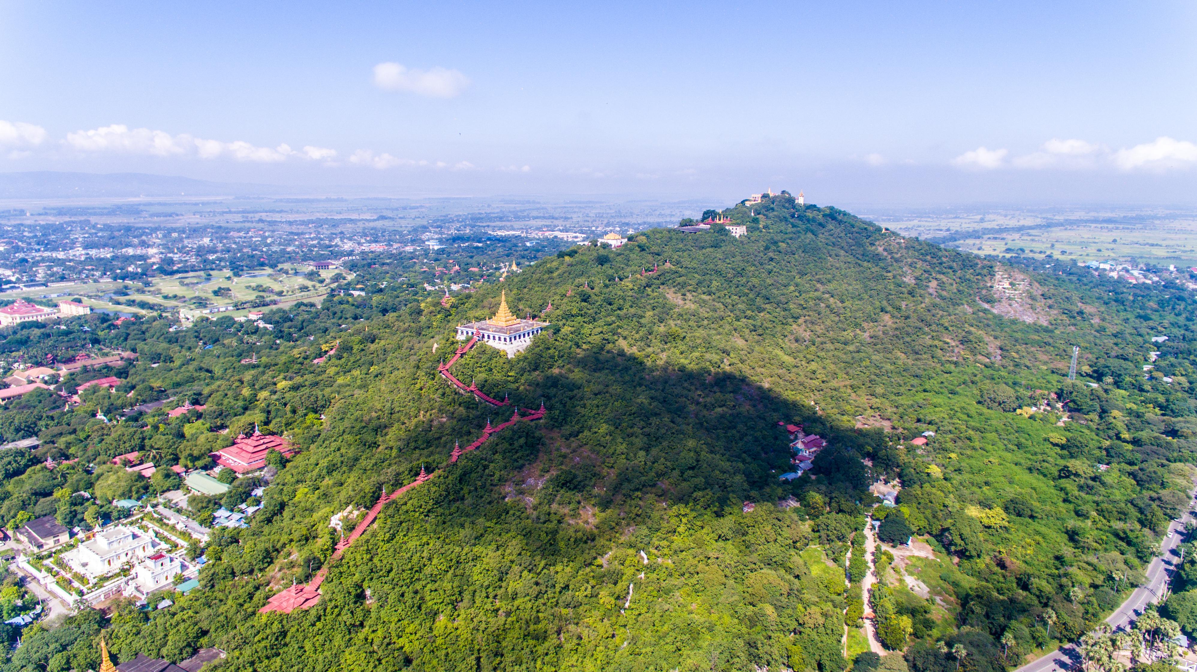曼德勒山  Mandalay Hill   -1