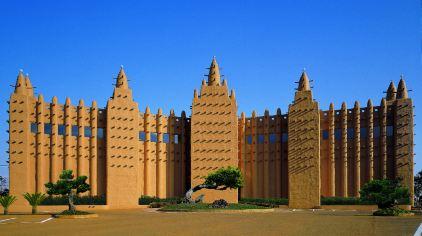 非洲建筑简笔画
