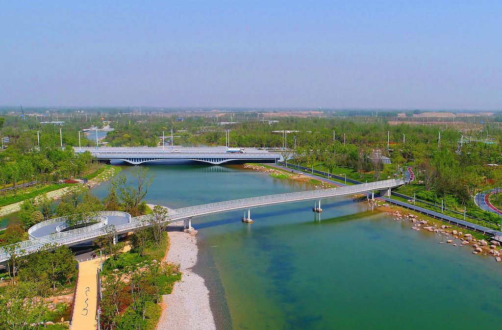 """双鹤湖中央公园""""花与田""""的纸短情长 - 郑州游记攻略"""