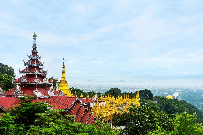 曼德勒山  Mandalay Hill   -0
