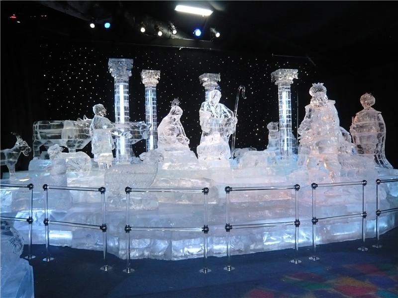 自贡·哈尔滨冰雪嘉年华,正宗原味哈尔滨冰灯展