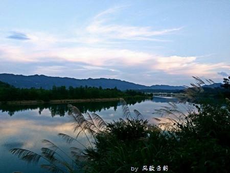 从清晨美到黄昏的青戈江桃花潭和查济古村
