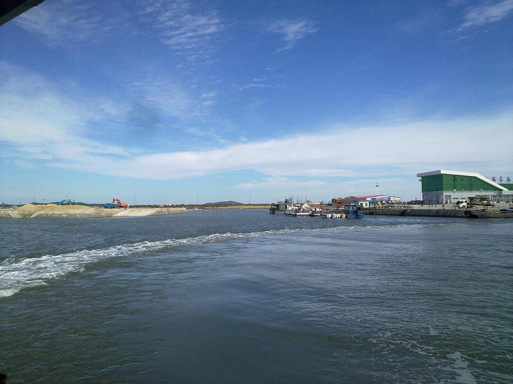 丹东大鹿岛是我国海岸线北端的第一大岛