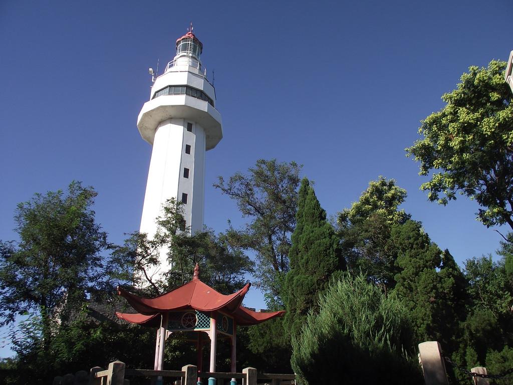 烟台山灯塔