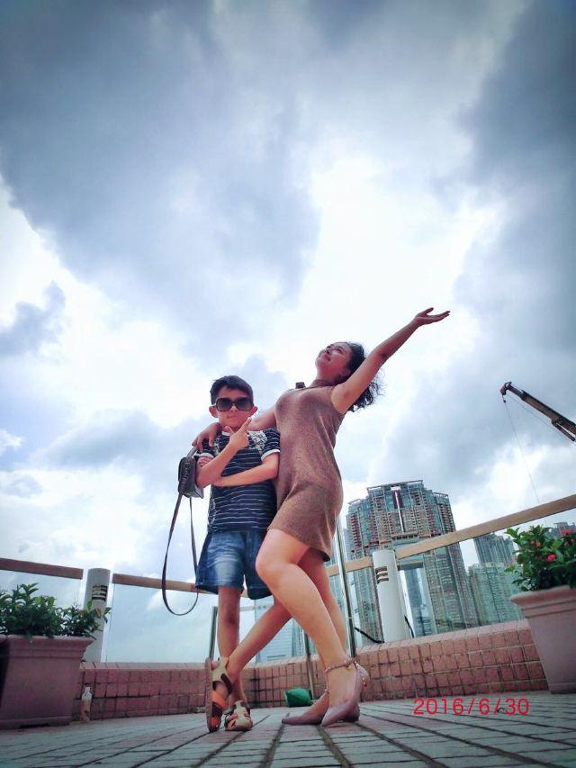 小脚丫# 小宝,我们的港澳游哦