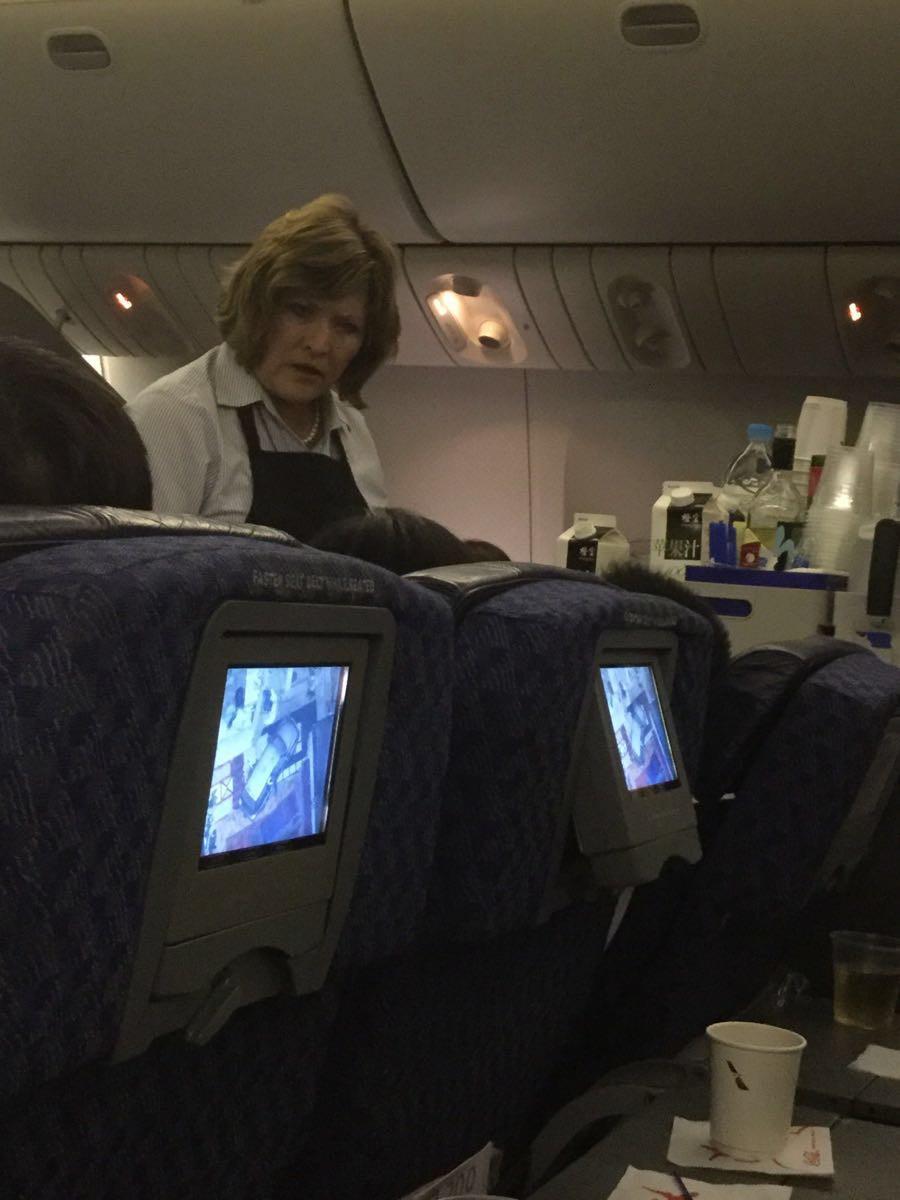 坐aa飞机座位