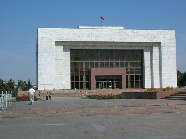 吉尔吉斯斯坦国家博物馆  Muzei   -4