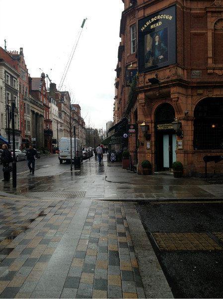 英伦街道背景素材