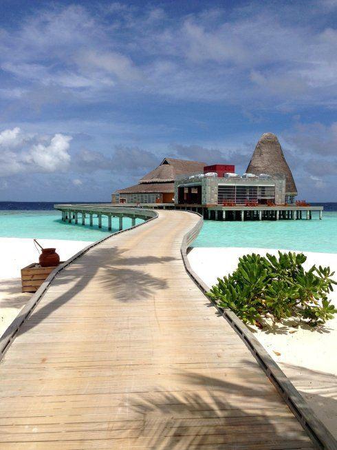 马尔代夫最大的海底餐厅