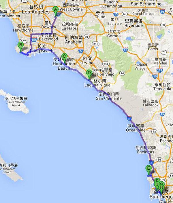 亲亲野马梦,美国西海岸16日自驾畅游