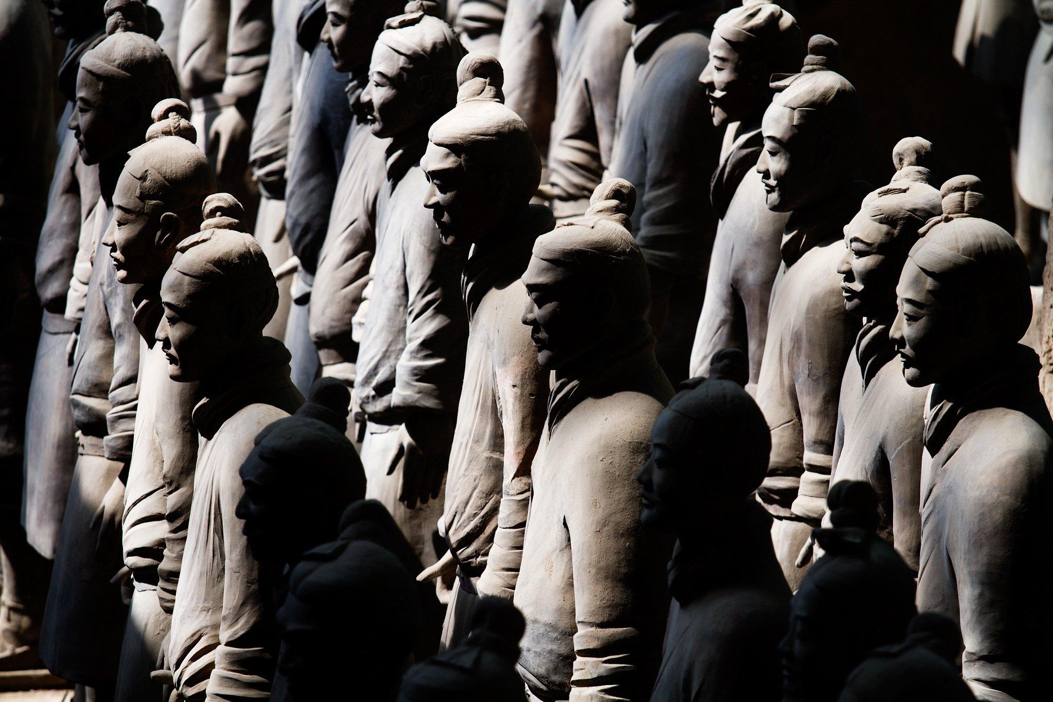 秦始皇兵馬俑博物館    -0