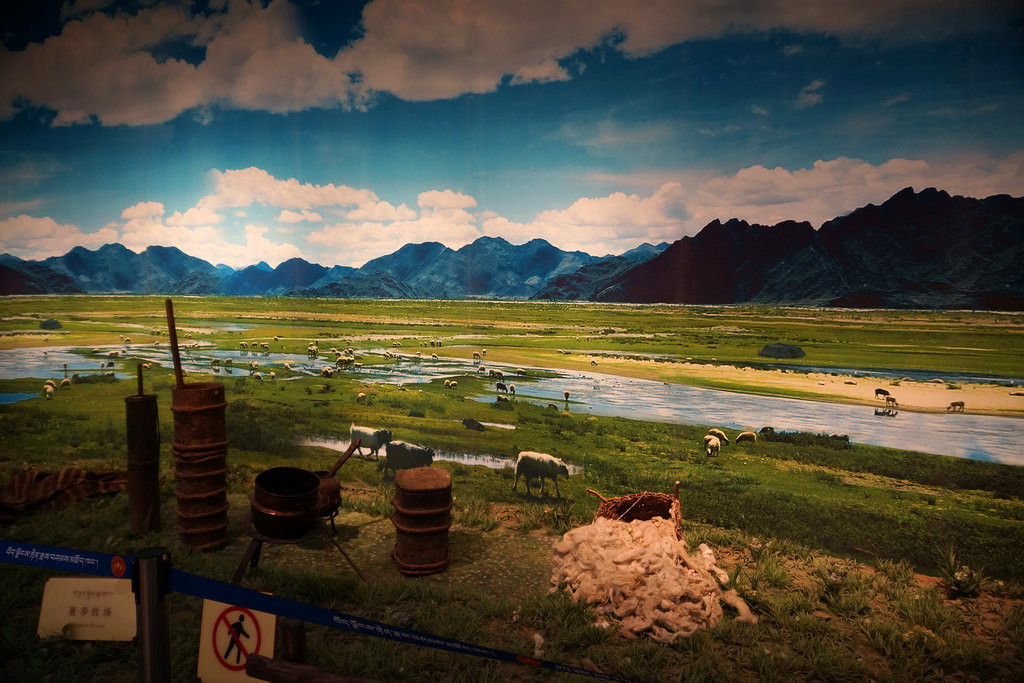 藏族风景清晰图片