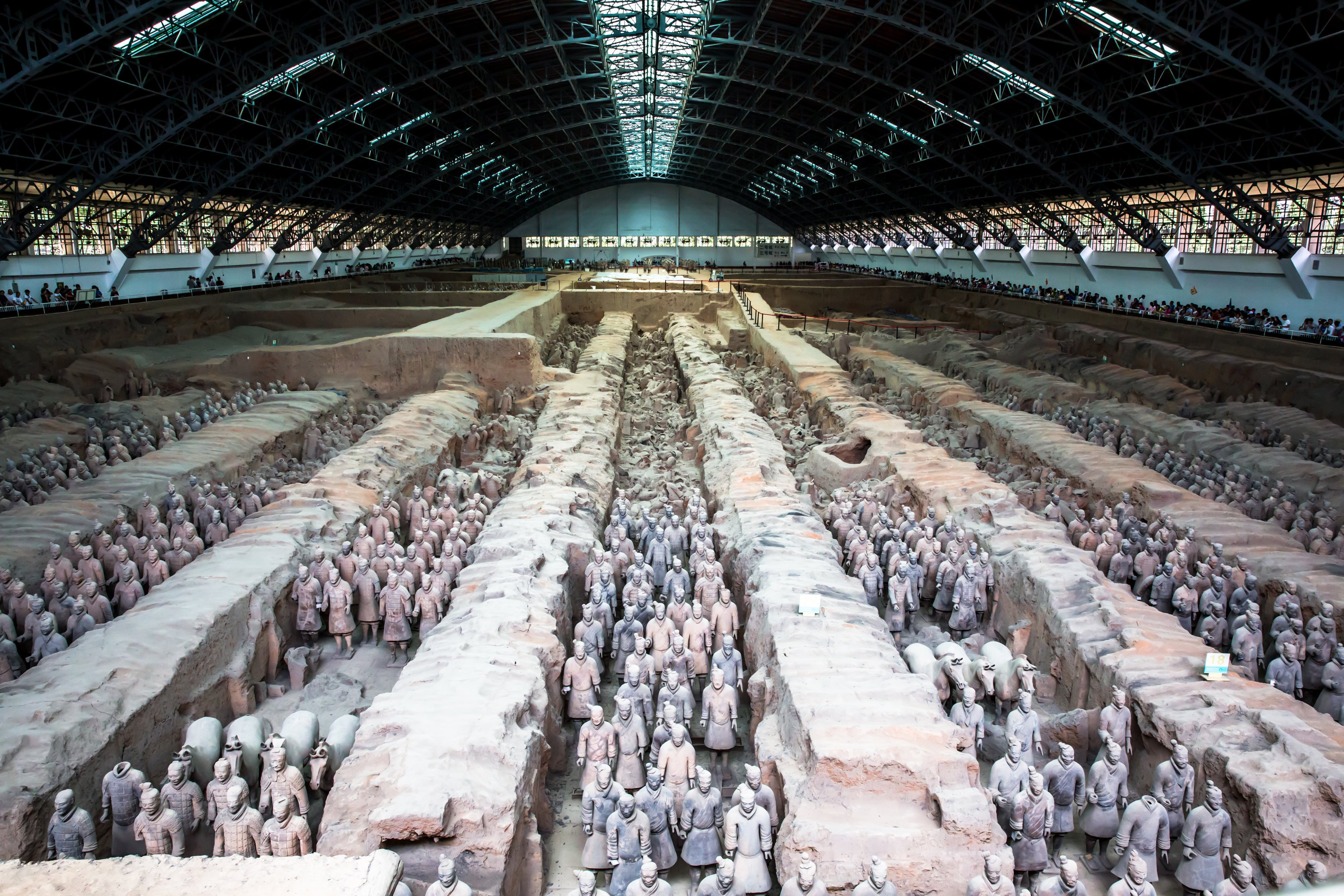秦始皇兵馬俑博物館    -4