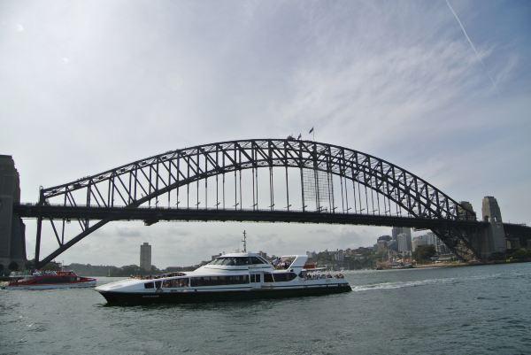 """被称为""""衣架""""的巨大钢结构拱形桥周身遍布的铆钉近60"""