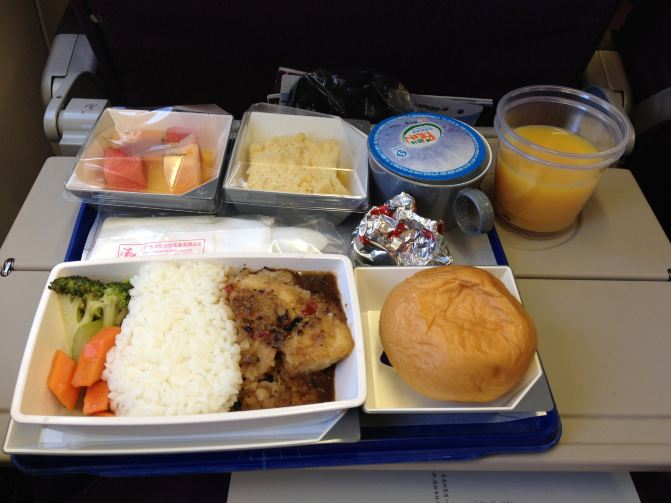 马航的飞机餐,比国内航班要好吃好多