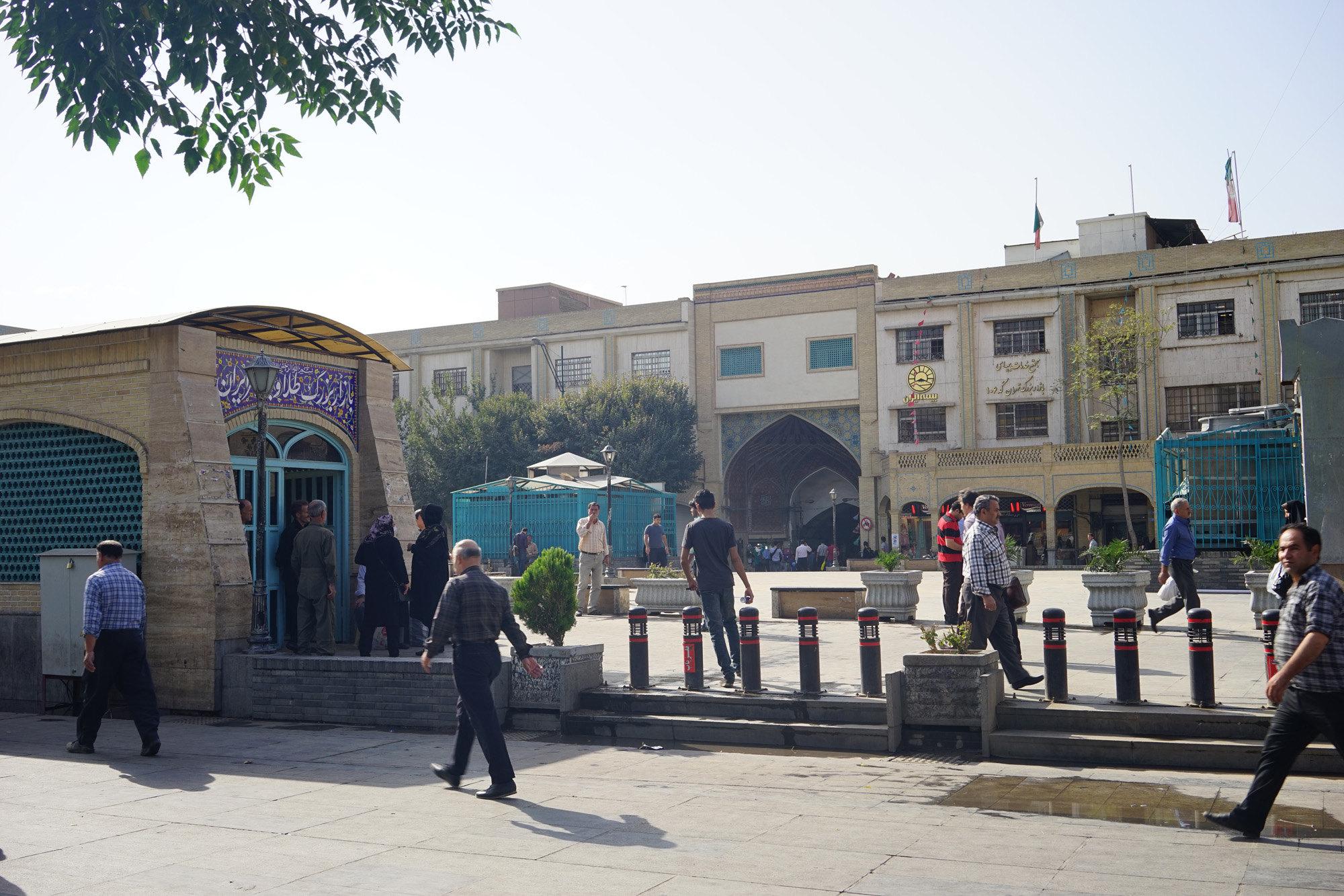 大巴扎  Tehran Bazaar   -2