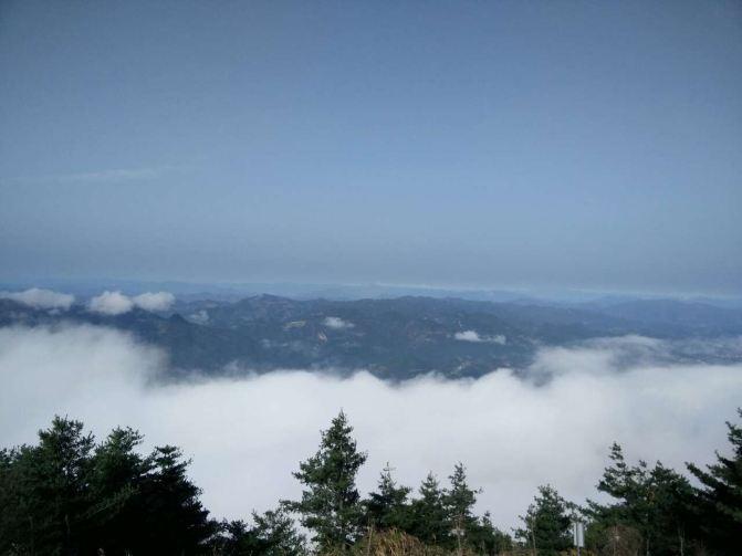 万源八台山风景区,是踏青的一个好去处