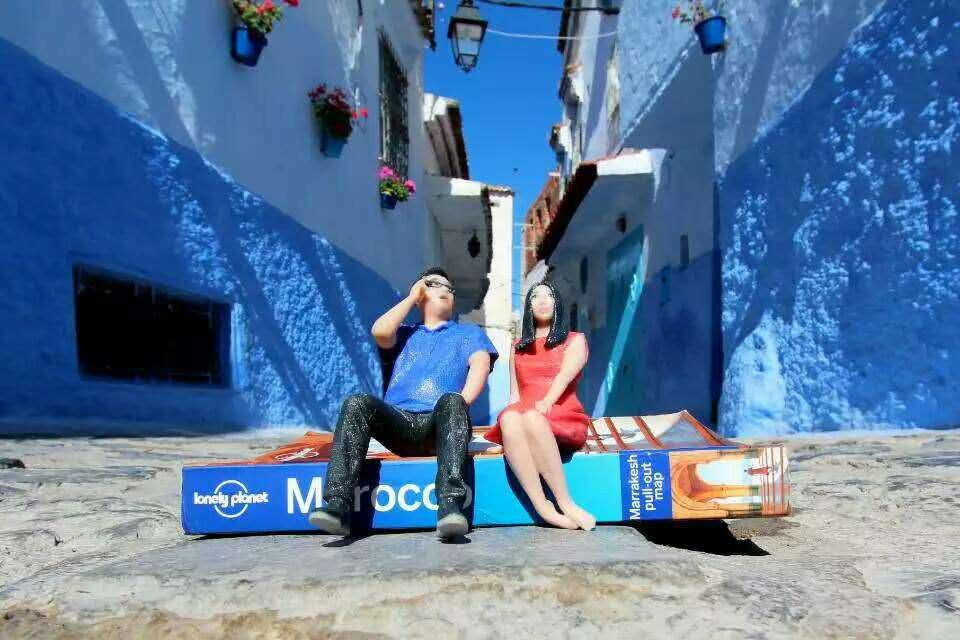 带着小人去旅行多彩摩洛哥之红色马拉喀什游记