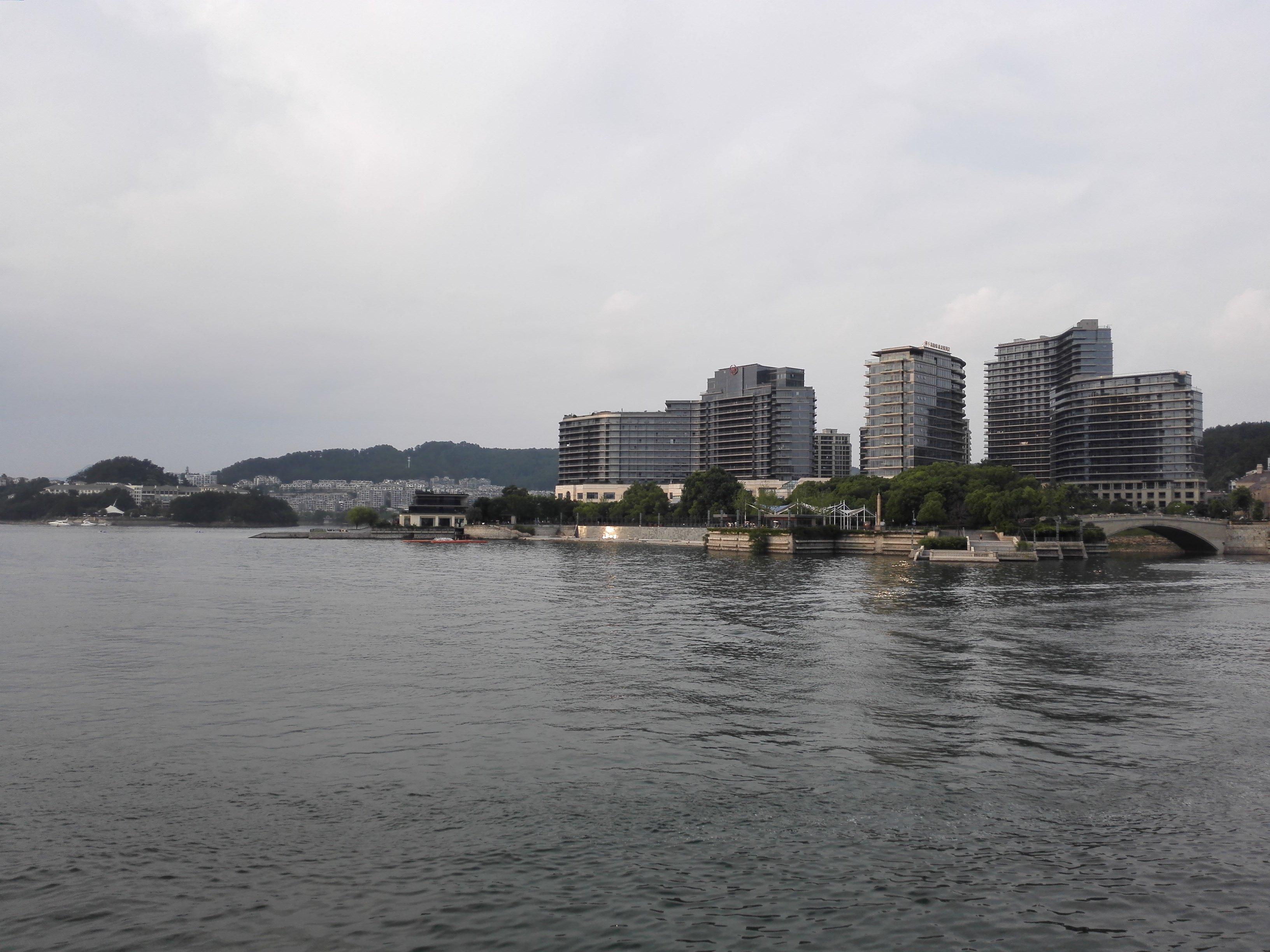 千岛湖景区总面积为982平方公里