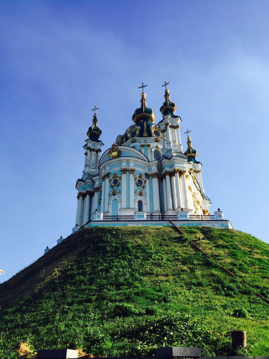 基辅圣安德烈教堂  St Andrew's Church   -3