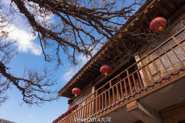 青海复古木头房子图片