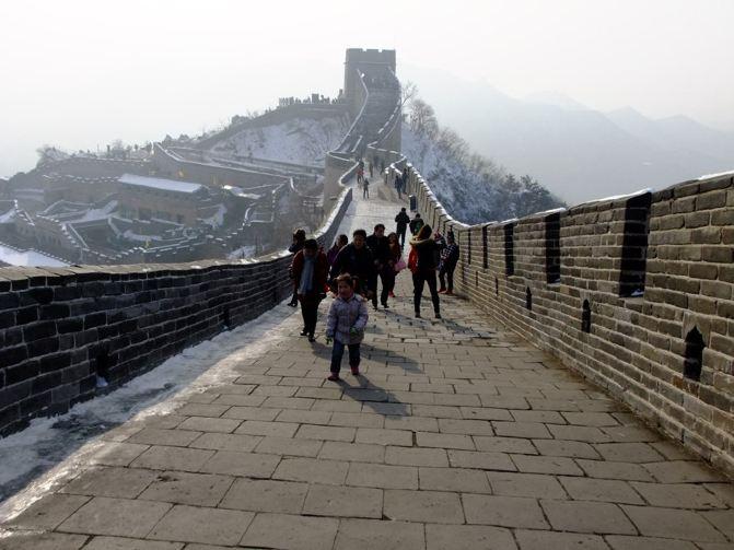 带着4岁半游记登泰山波恩游北京城-北京攻略长城女儿图片