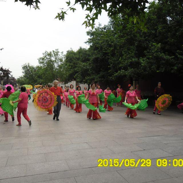 大雁塔广场舞.
