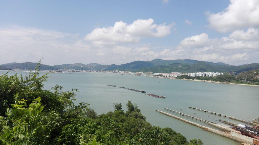 与阳光海滩玩游戏——台山浪琴湾 阳江东平渔港 大澳村