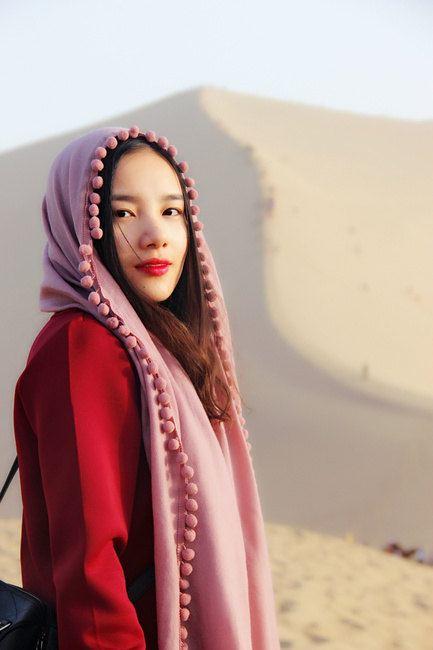 敦煌,丝巾与沙漠的惊艳邂逅图片