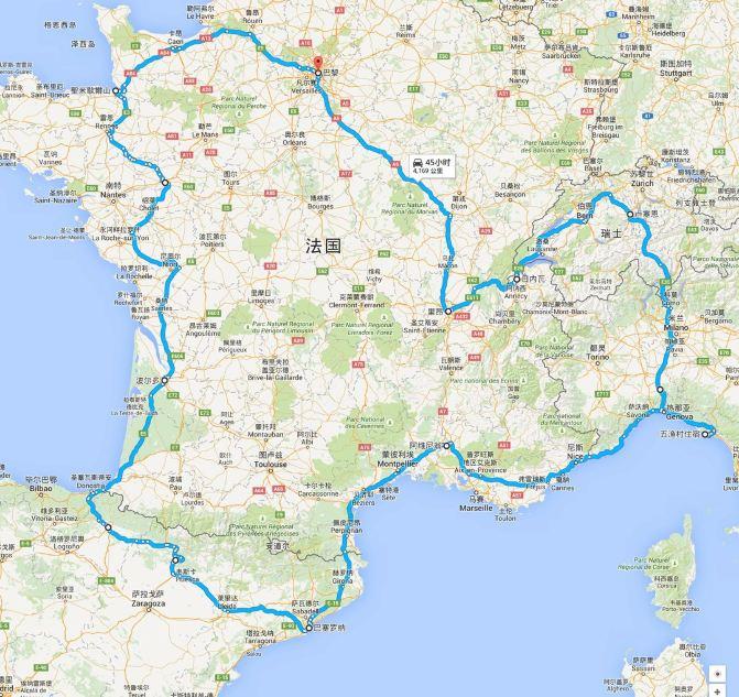 欧洲五国(法国,西班牙