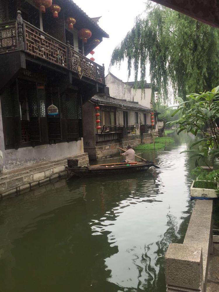 杭州 上海 周庄/不过客栈老板帮着买了半价票东栅