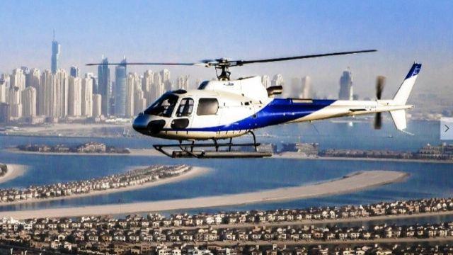 【超值特惠】迪拜直升机15分钟观光体验