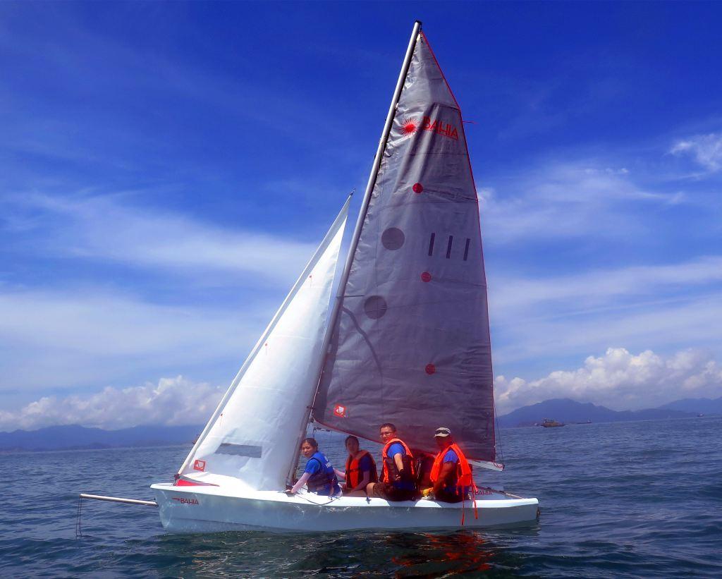 沙滩人很nice,还以特价玩了下香蕉船,免费玩了皮划艇.v沙滩妖精金福珠老板图图片