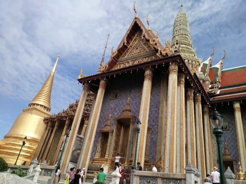 泰式建筑矢量图