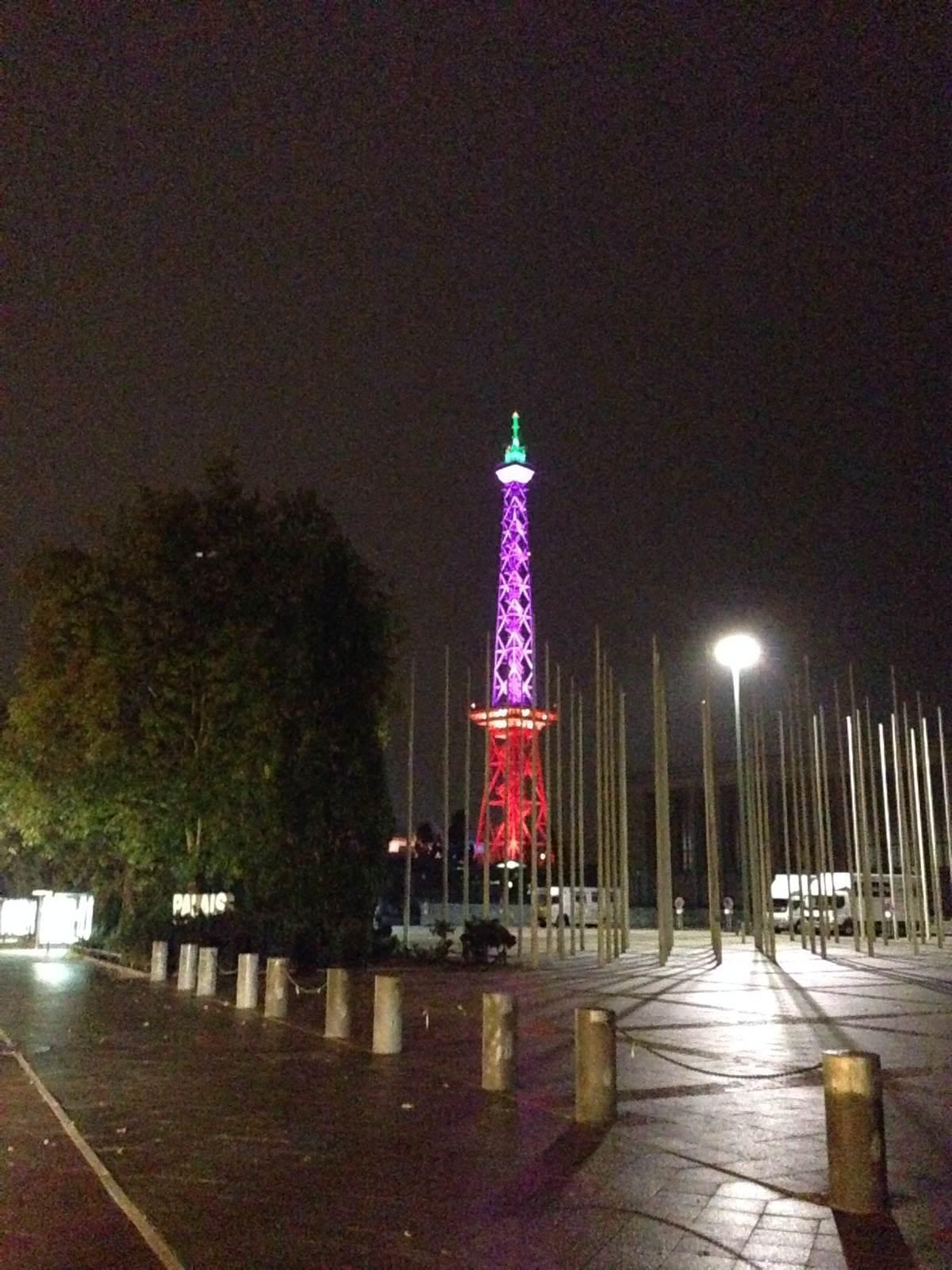 柏林的无线信号塔