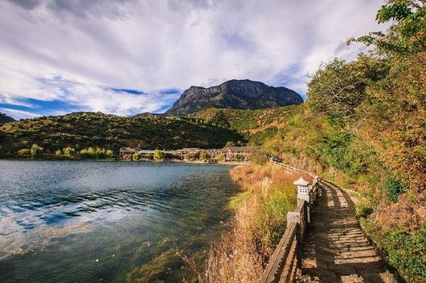 里格岛 里格和里格半岛. 泸沽湖观景台 第10天2014-10-18泸沽湖