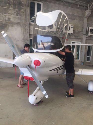 曼谷私人飞机俱乐部飞行体验记