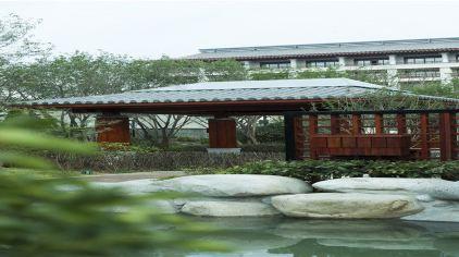 温泉泡池景观设计