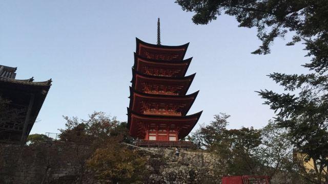 五重塔门票,广岛市五重塔攻略/地址/图片/门票价格