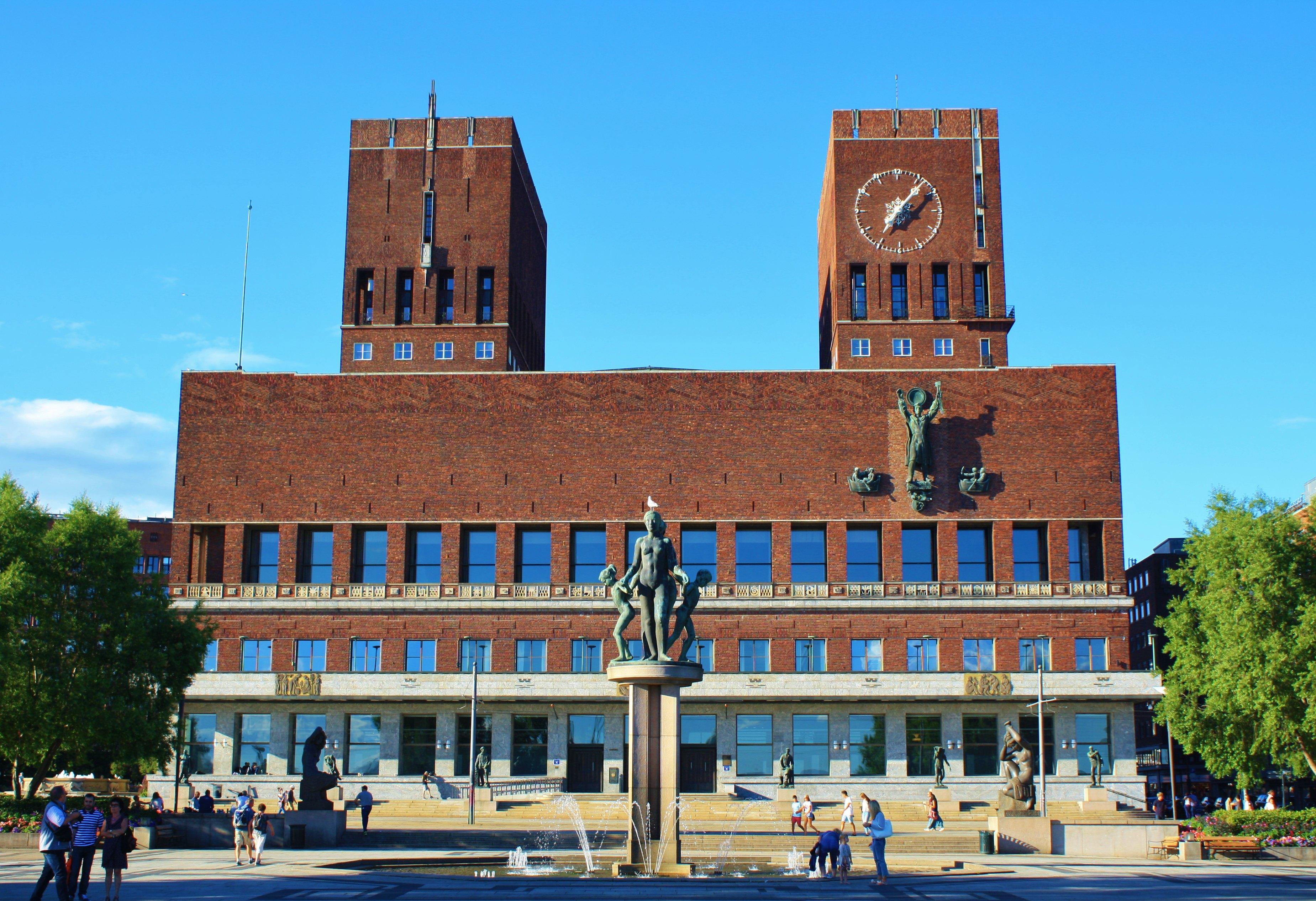 奧斯陸市政廳  Oslo City Hall   -2