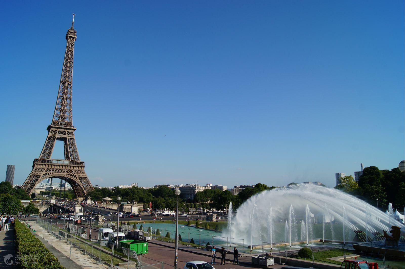 法国首都巴黎的绰约风姿