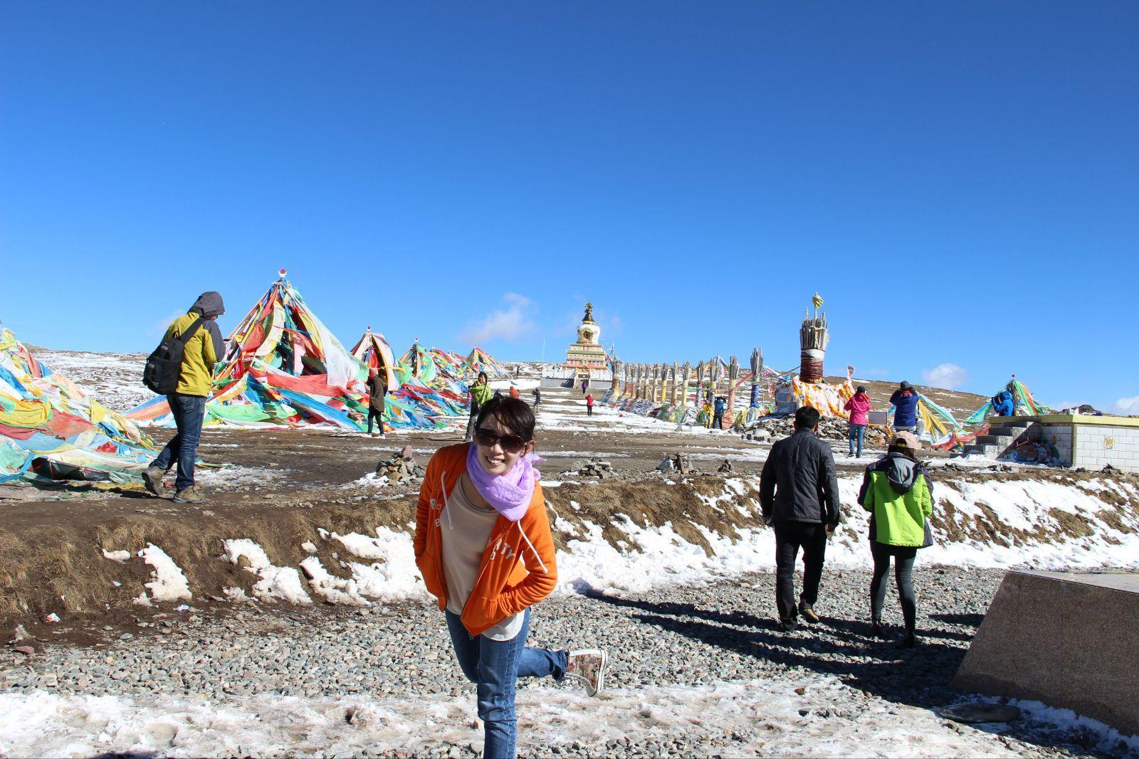 大冬树山垭口,祁连山脉海拔高度4120.6m.