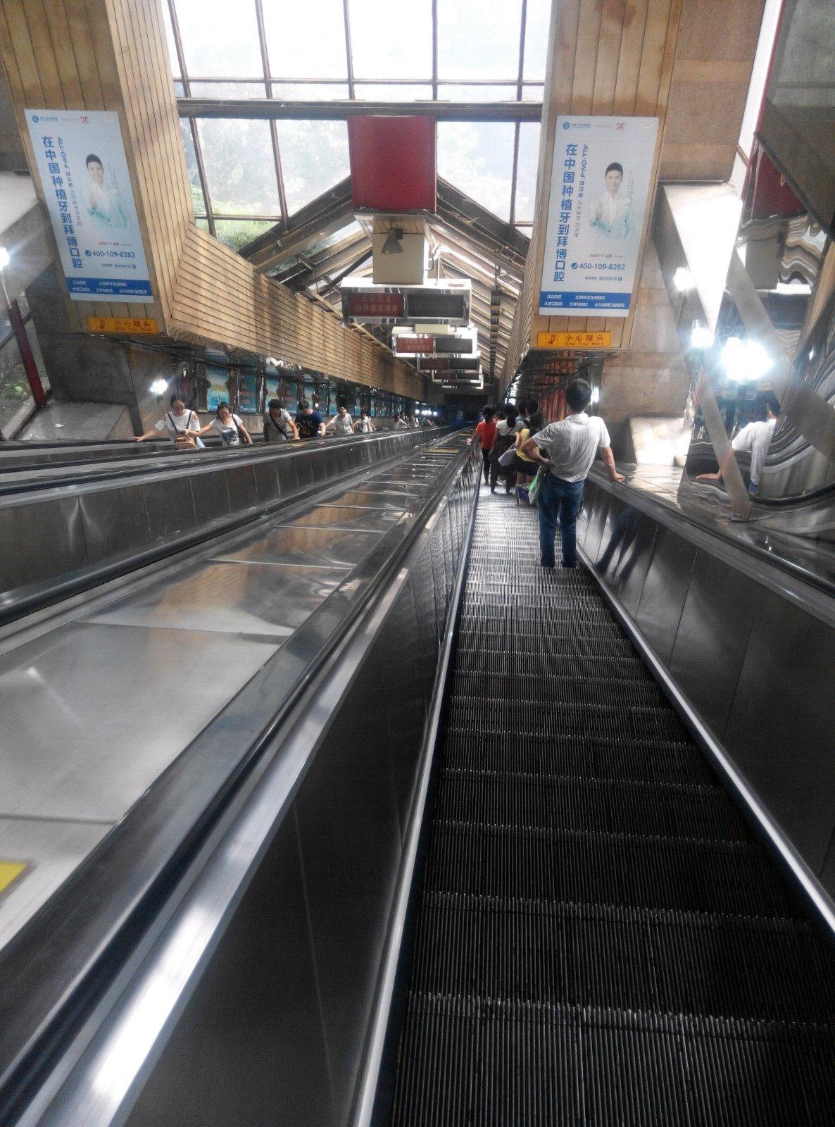 皇冠大扶梯高清图片