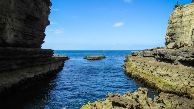 6分 (14条点评) 11 塔斯曼半岛位于霍巴特的东南部,亚瑟港是最主要的
