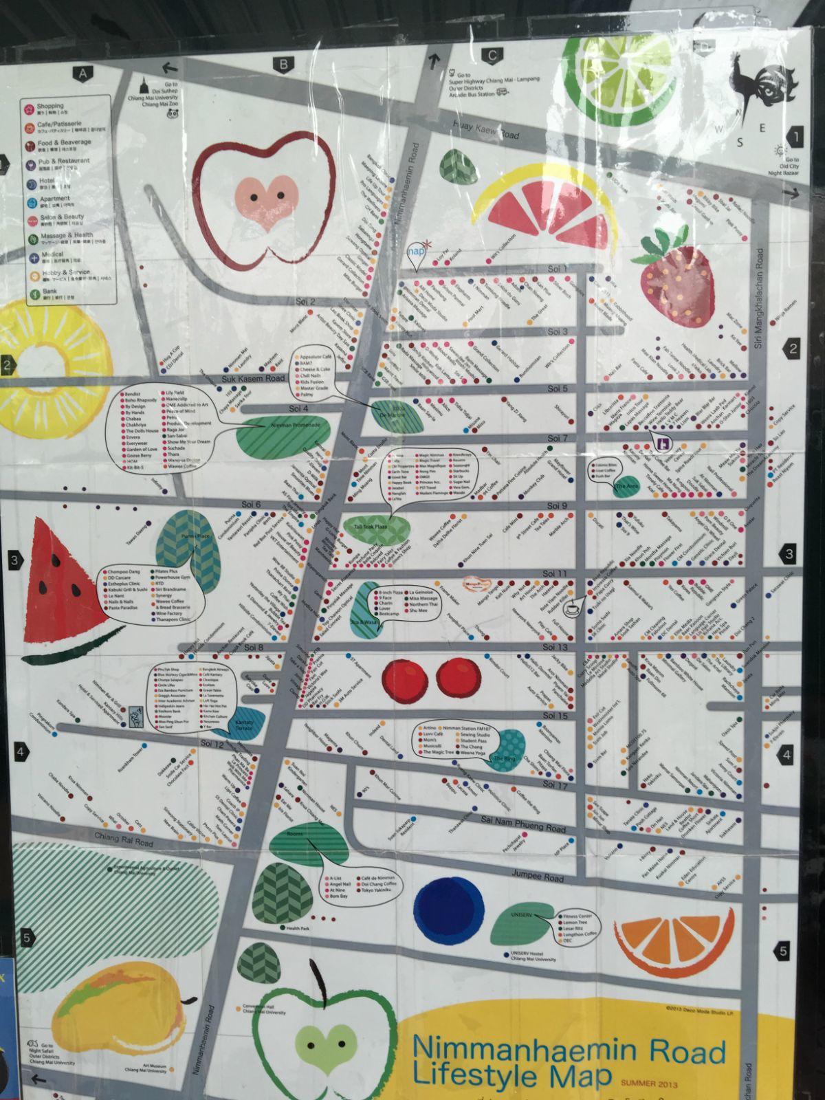 宁曼路地图
