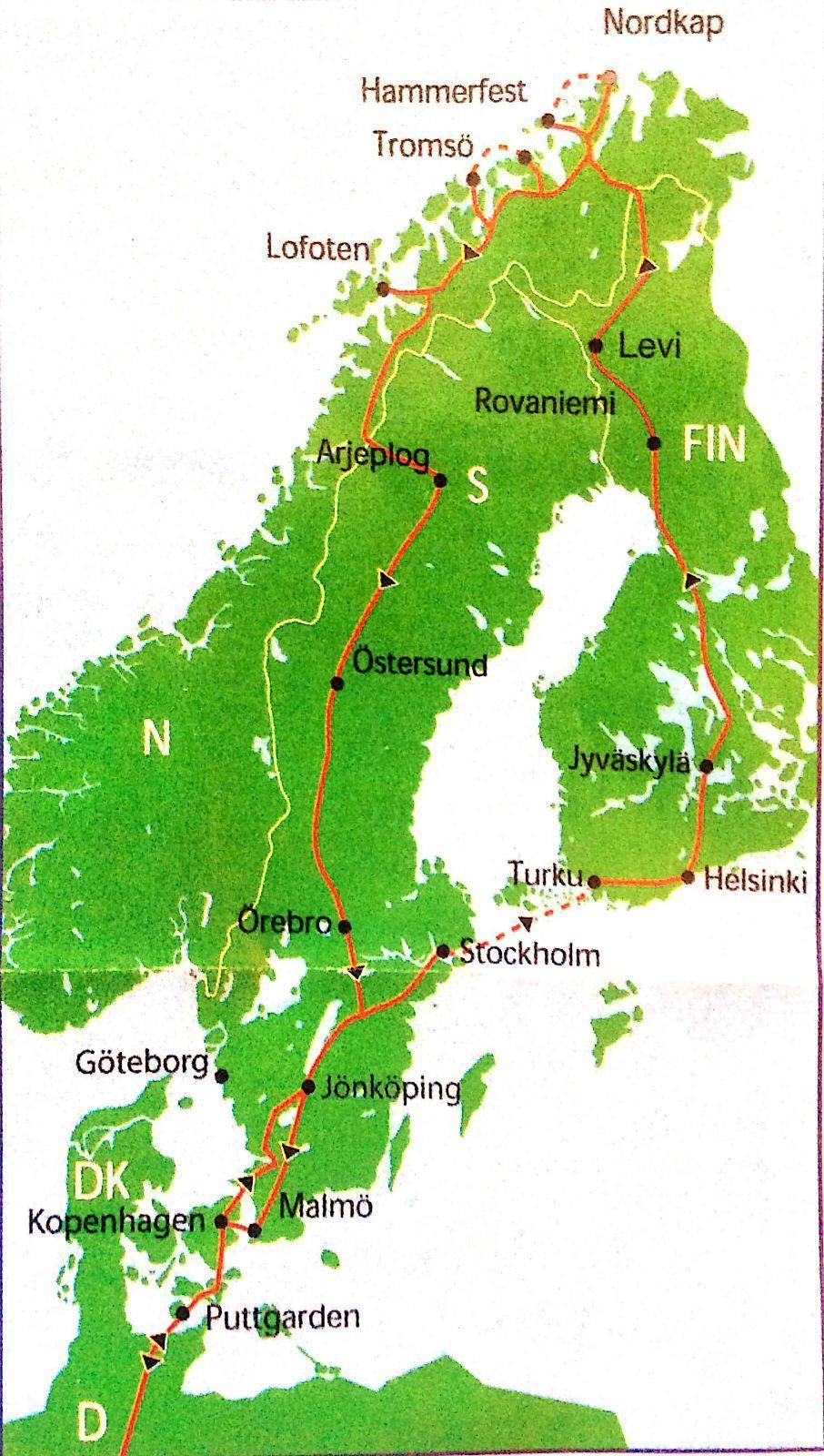 2015夏挪威北角和罗弗敦群岛游(1)