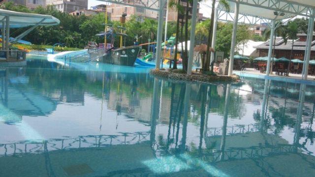 温泉水乐园平面图
