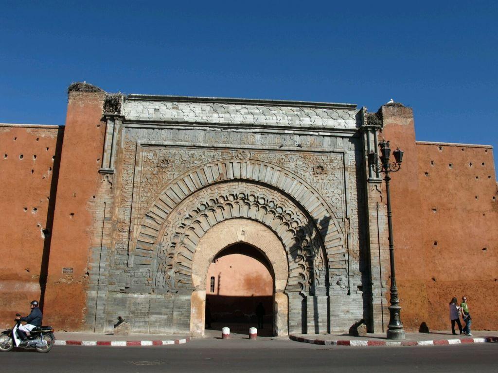 马拉喀什马拉喀什:著名的&quot红城&quot.