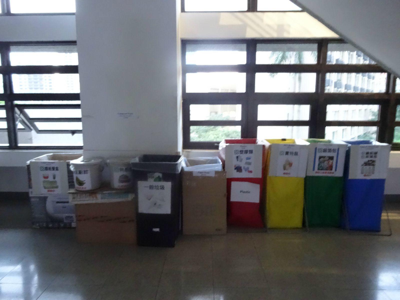 台湾的垃圾分类做得非常好