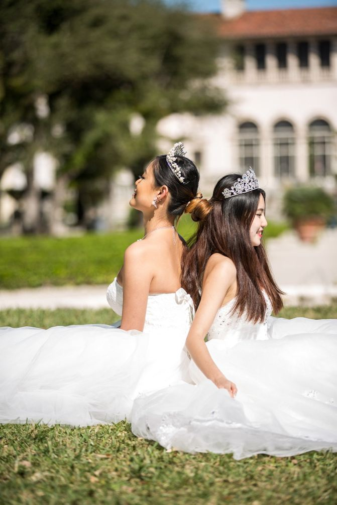 见证三个女生的迈阿密艺术摄影之旅